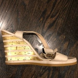 Michael Kors wedge sandal